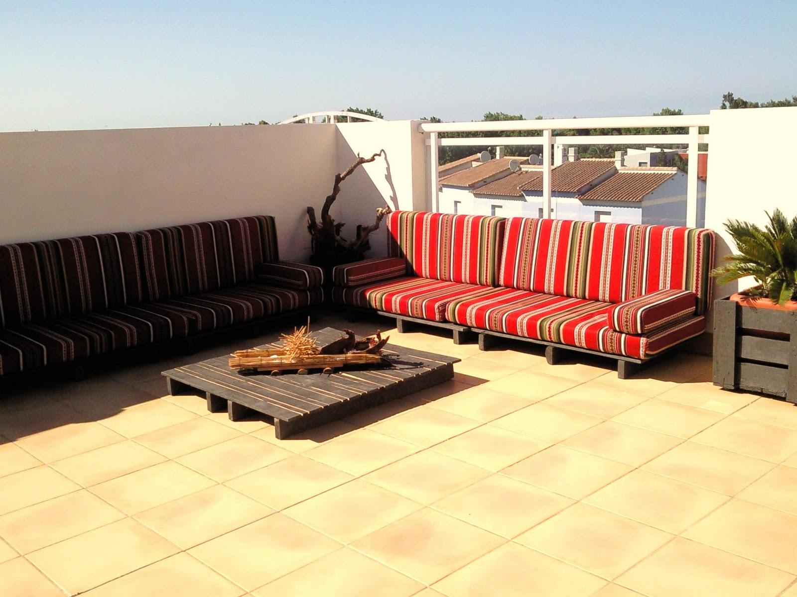 C mo hacer muebles de madera con palets madera tarimas for Muebles de terraza con palets
