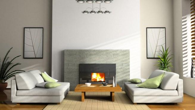Salones acogedores con chimenea for Salones con chimenea