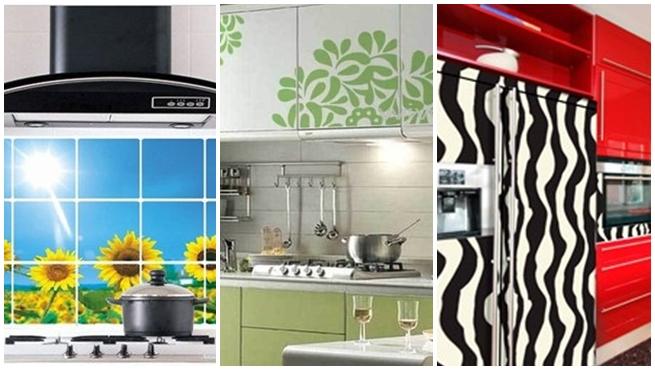 Vinilos decorativos para la cocina for Adhesivos decorativos para muebles