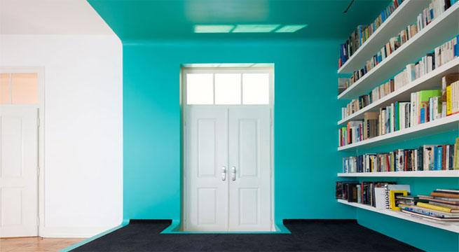 Paredes a color casa en portugal for Colores para paredes de casa