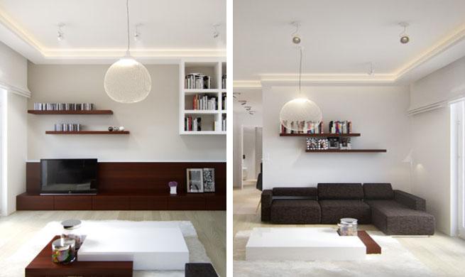 Apartamento peque o muy bien resuelto for Como decorar un piso de 40 metros cuadrados