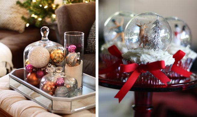 Decorar con bolas de navidad - Bolas transparentes para decorar ...