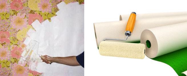 C mo pintar sobre el empapelado - Papel de empapelar paredes ...