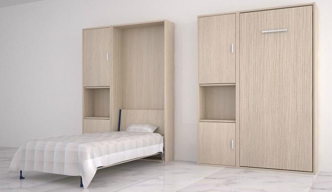 Aprovecha al m ximo el espacio con las camas murphy for Como se llaman las camas que se doblan