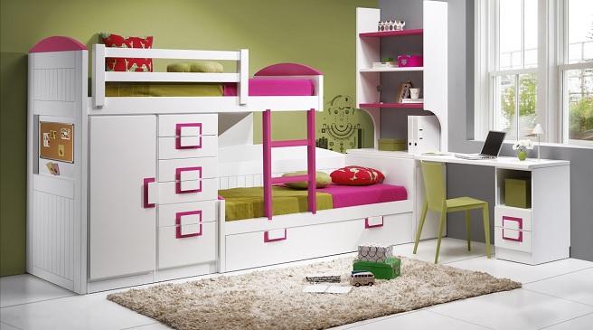 Consejos para sacarle partido a las habitaciones - Habitaciones infantiles compartidas pequenas ...