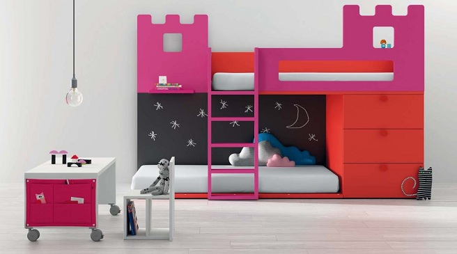 Consejos para sacarle partido a las habitaciones - Muebles infantiles para habitaciones pequenas ...