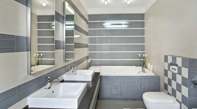 Iluminacion Baño Moderno:Master Bathroom Design Ideas