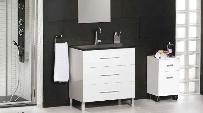 Un mueble auxiliar para mantener el ba o ordenado - Mueble para el bano ...