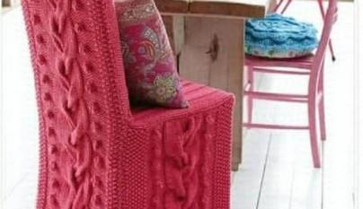 butaca punto rosa