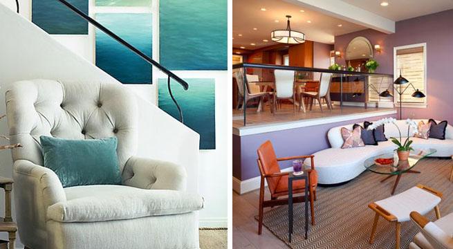 Combinaciones de colores relajantes para la casa for Colores de pintura de moda
