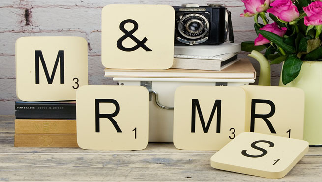 Letras de scrabble para decorar rincones - Scrabble decoracion ...