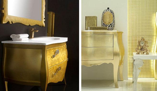 Muebles blanco con dorado 20170816200808 - Decorar reciclando muebles ...