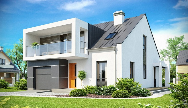 C mo decorar casas prefabricadas - Techos modulares ...