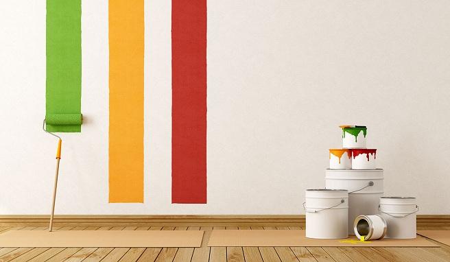 como pintar una pared ya pintada finest papel pintado