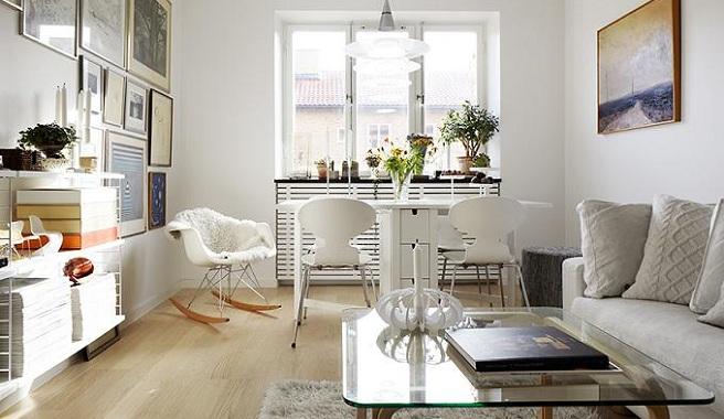 Consejos para decorar espacios peque os - Decorar piso pequeno ...