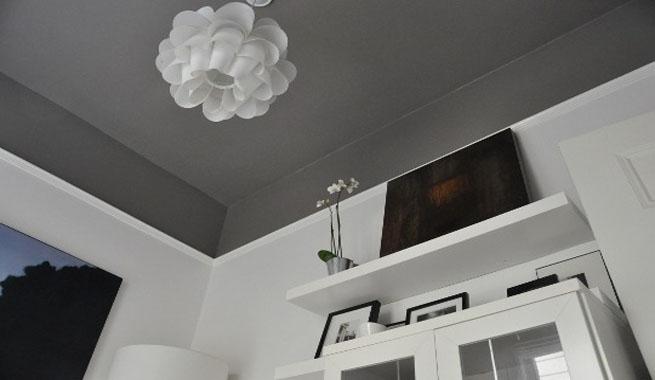 Pinturas para techos - Como pintar techos ...