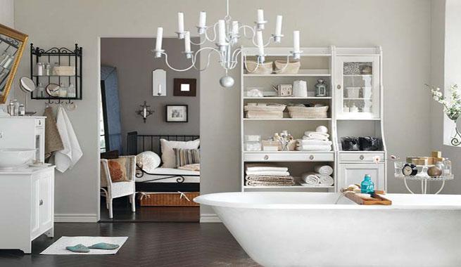 Baño Romantico Ideas:Decover: -: Claves románticas para el cuarto de baño