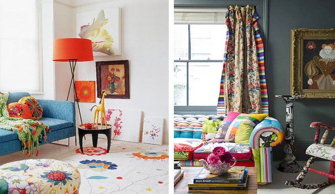 Claves del estilo boho chic for Muebles hippies