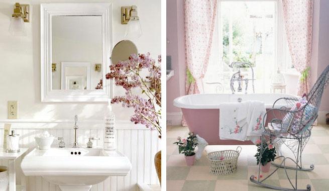 Decorar Un Baño Romantico:Claves románticas para el cuarto de baño