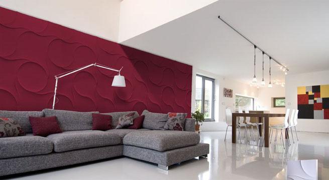 Paneles decorativos de yeso for Decoracion en techos interiores