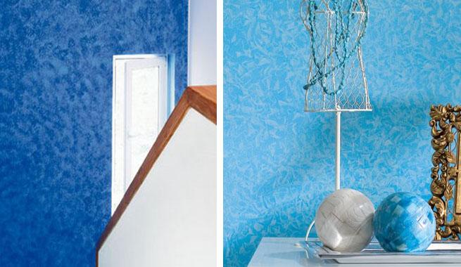 Mezclar pinturas para crear efectos decorativos - Pinturas decorativas paredes ...