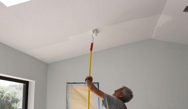 Pinturas para techos - Pintar lamparas de techo ...