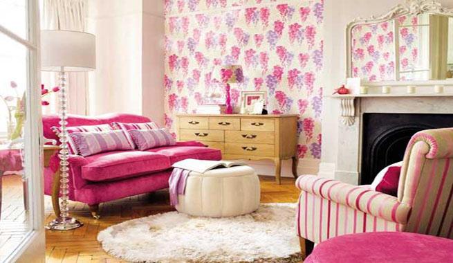 Tipos de tejidos y telas para decorar for Telas cortinas salon