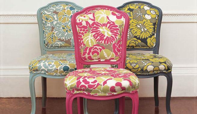 Tipos de tejidos y telas para decorar for Telas tapizar sillas comedor