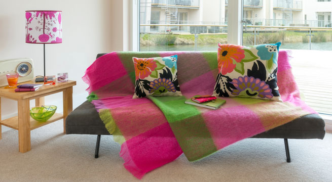 Mantas y plaids para la primavera - Plaids para sofas ...