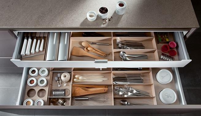 Cajones siematic el almacenaje perfecto para la cocina for Organizar cajones cocina