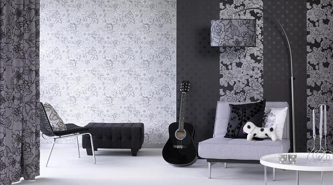 Consejos para escoger el papel pintado - Papel a rayas para paredes ...