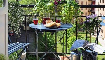 balcon muebles hierro