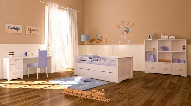Los colores m s sanos para decorar habitaciones infantiles - Colores habitacion bebe ...