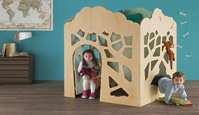 Casitas modernas para cuartos de ni os for Habitaciones modernas para ninos