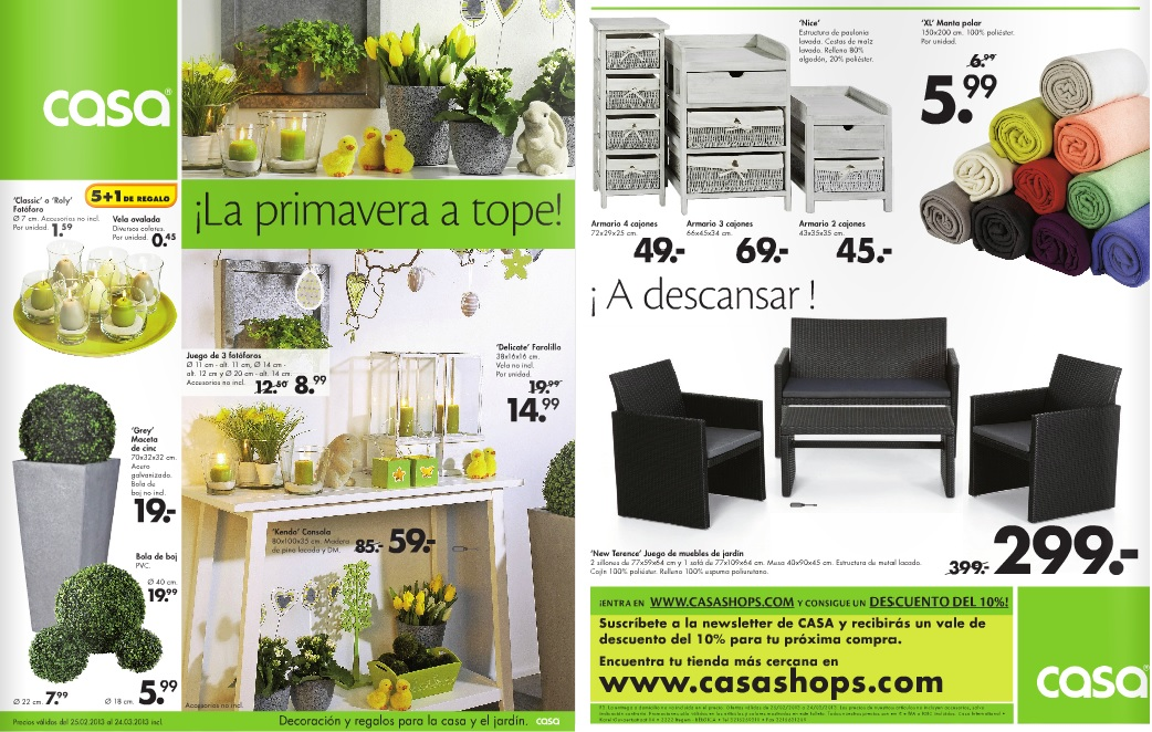 Casashop 1 for Catalogo casa