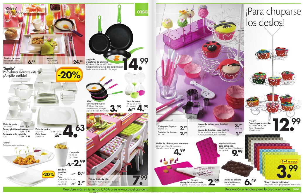 Cat logo casashops casa home 2013 - Casashops catalogo ...
