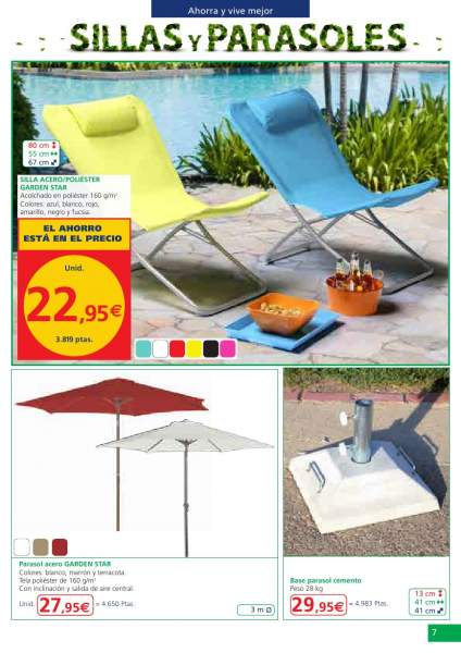 Catalogo alcampo jardin verano 2013 6 for Decoracion jardin alcampo
