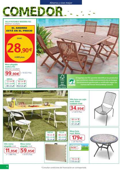 Decorablog revista de decoraci n for Conjunto de jardin alcampo