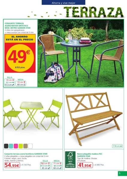 Catalogo alcampo terraza y jardin 2013 4 for Catalogo jardin alcampo