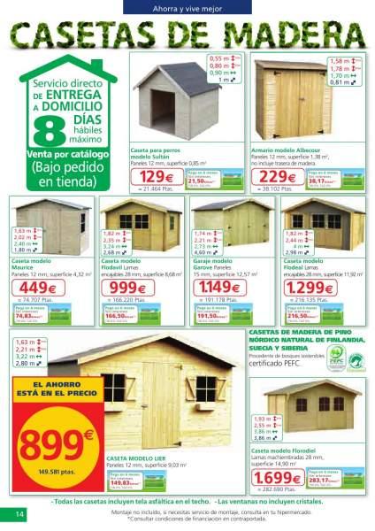Catalogo ofertas muebles exterior alcampo 2013 11 for Muebles jardin alcampo 2016