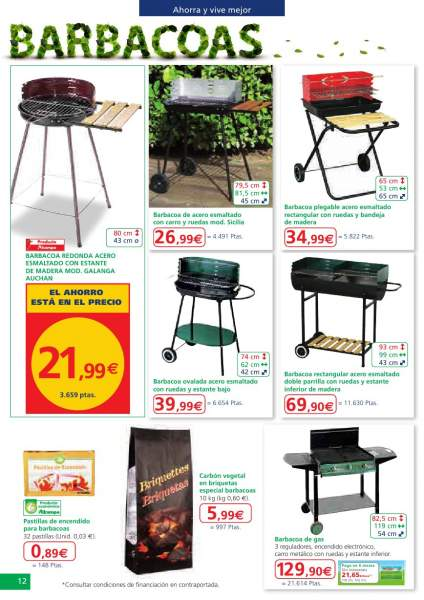 Catalogo ofertas muebles jardin alcampo 2013 9 for Decoracion jardin alcampo