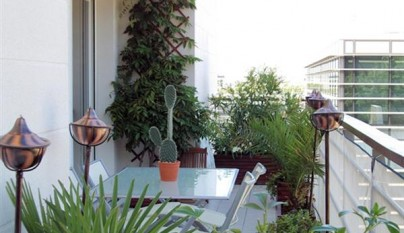 balcon contemporaneo malla