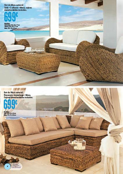 Ofertas muebles terraza idea creativa della casa e dell for Oferta mueble jardin