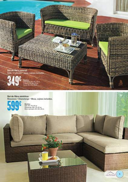 decorablog revista de decoraci n On muebles jardin hipercor
