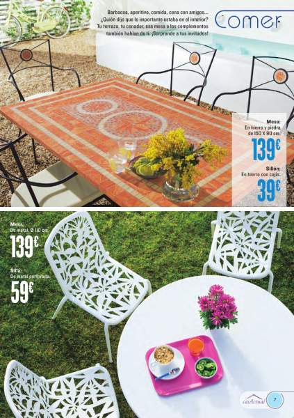 Muebles terraza jardin hipercor 5 for Hipercor sombrillas jardin