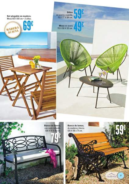 Muebles de ba o hipercor for Hipercor sombrillas jardin
