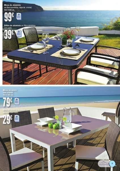 Muebles terraza jardin hipercor 8 for Muebles para terraza y jardin