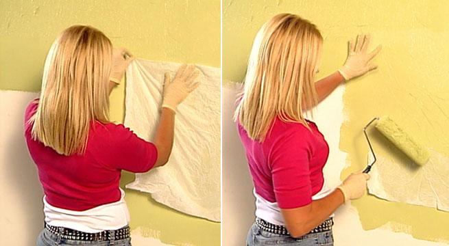 Decorar paredes con papel tis - Paredes decoradas con papel ...