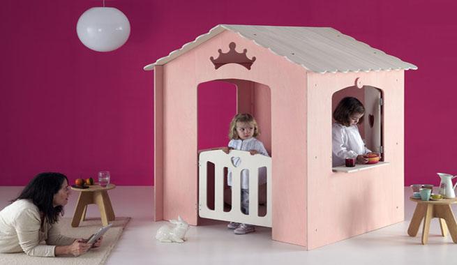 Casitas modernas para cuartos de ni os for Cuartos de ninas modernos