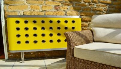 radiador amarillo